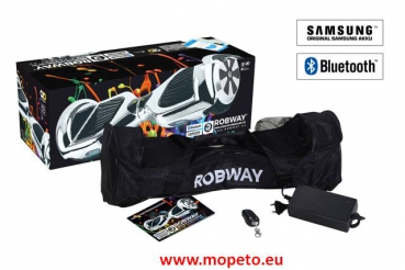E-Balance Hoverboard ROBWAY W3 10`Reifen mit App-Funktion