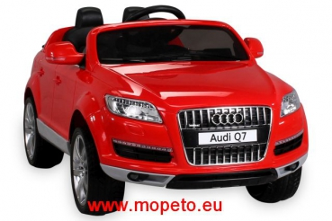 kinder elektroauto audi q7 suv motorradzubeh r quad. Black Bedroom Furniture Sets. Home Design Ideas