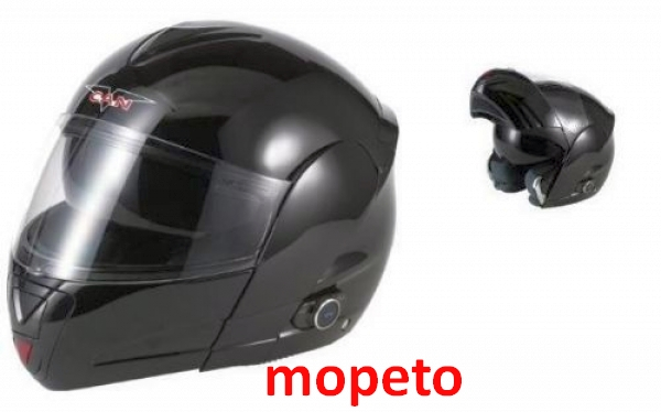 motorrad bluetooth klapphelm v210 hochglanz schwarz. Black Bedroom Furniture Sets. Home Design Ideas