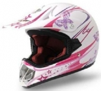 Kinder Crosshelm Enduro V310 Girl, pink